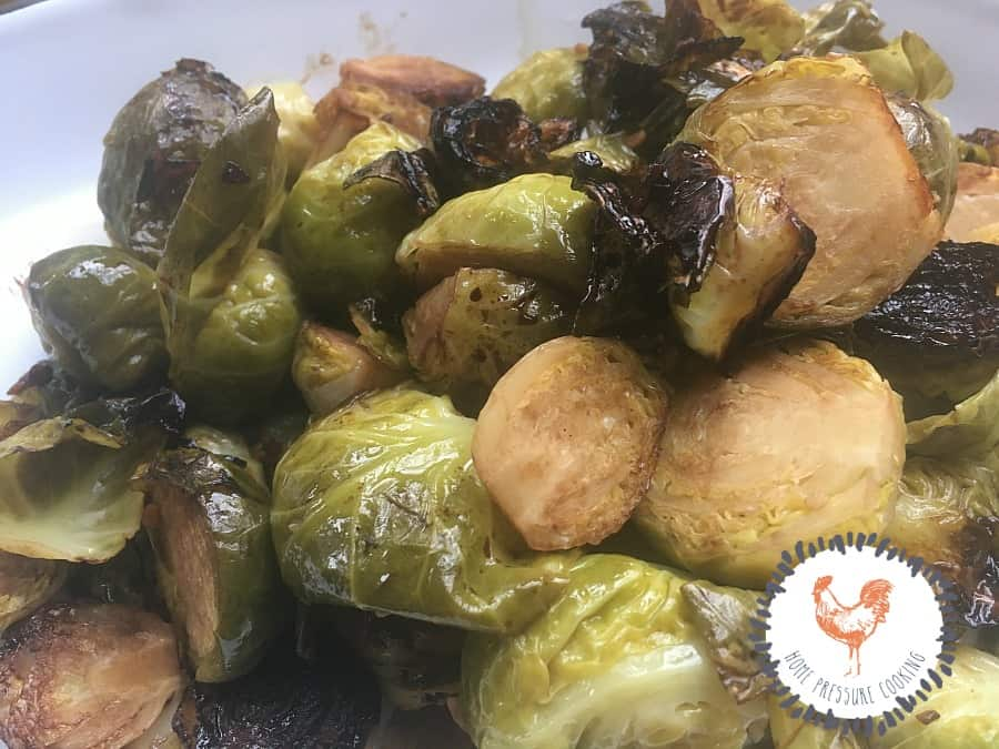 How to make brussel sprouts in the pressure cooker