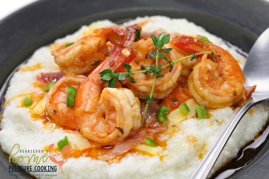 How to make Shrimp and Grits in the pressure cooker