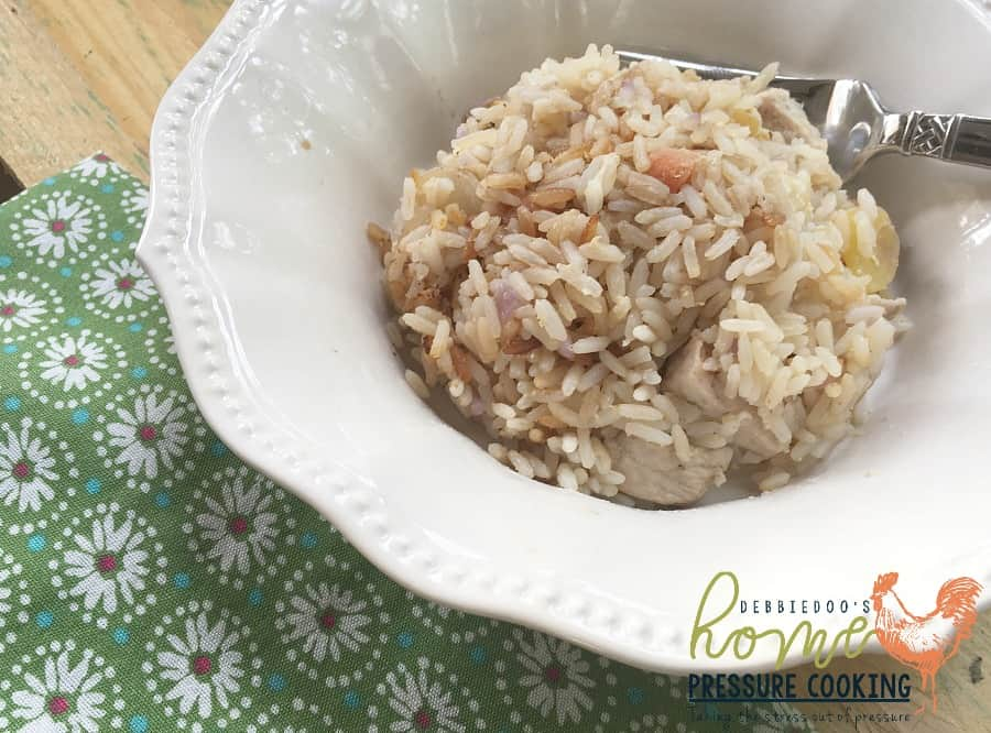 How to make the perfect pork fried rice in the pressure cooker