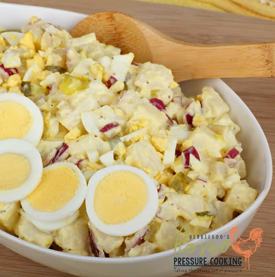 Quick and easy Potato salad in the Pressure cooker