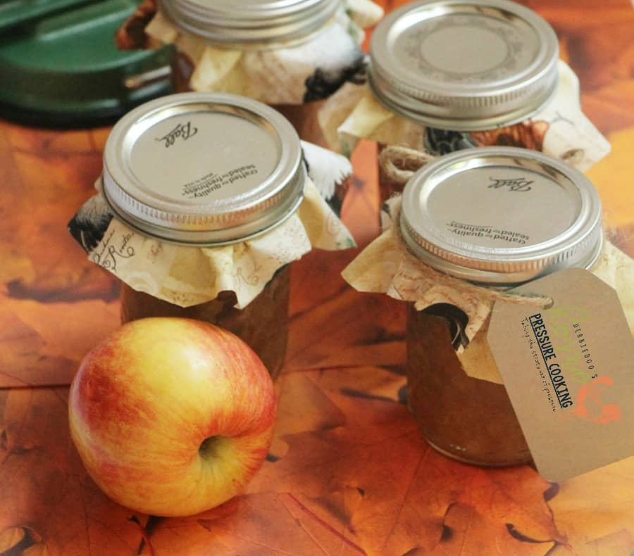 How to make homemade applesauce in the Instant Pot