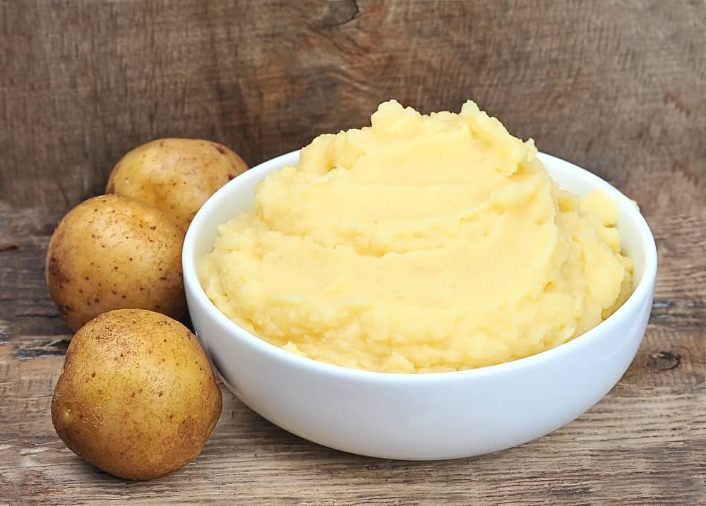 Mashed potatoes in the Instant Pot