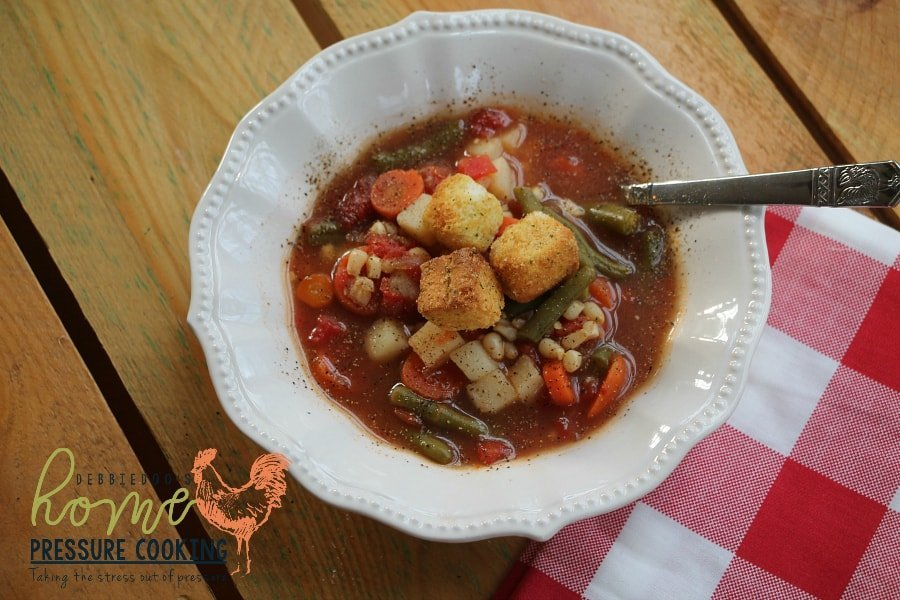 Weight watchers vegetable soup in the instant pot home pressure looks like we are on the final count down until christmas im so happy that our son is home from college and my in laws will be arriving on thursday forumfinder Gallery