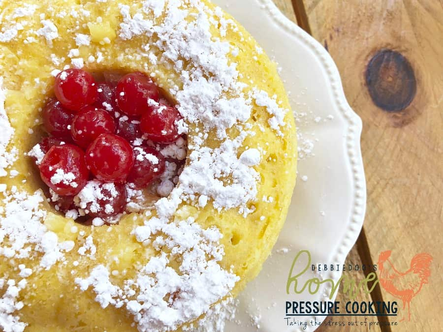 How To Make Pineapple Cake In Pressure Cooker