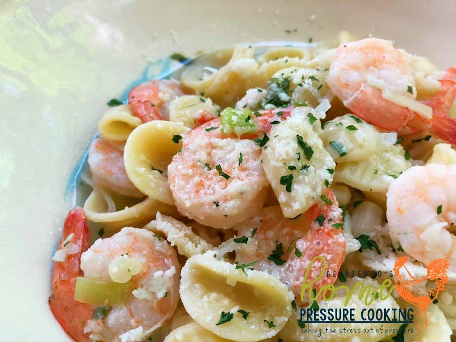 how to make shrimp scampi pasta