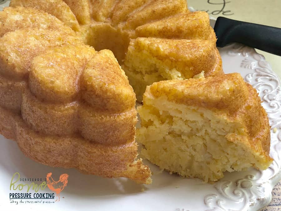 Pineapple cornbread in the Air Fryer