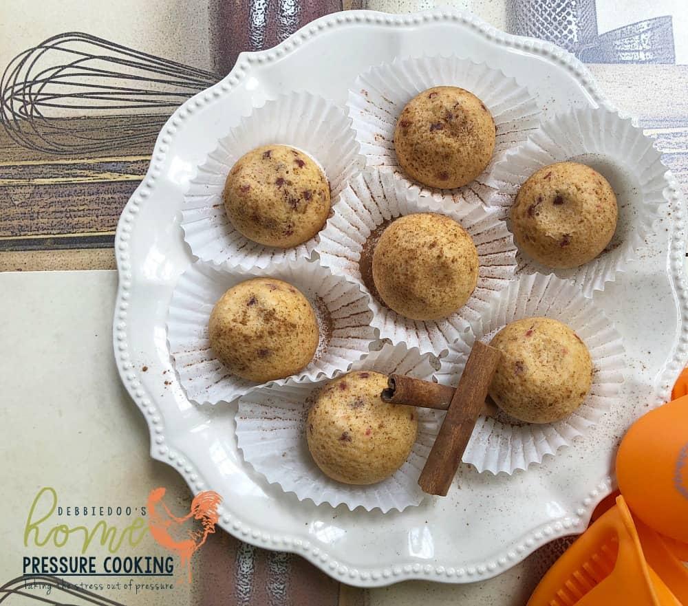 How to make Cake bite muffins in the Ninja Foodi