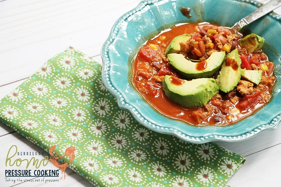 Taco soup in the Instant Pot