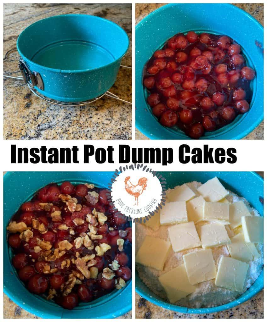 Dump cake in the Instant Pot
