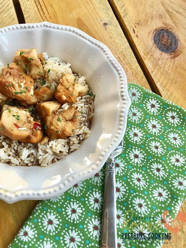 Weight Watchers Chicken Teriyaki In The Instant Pot Home