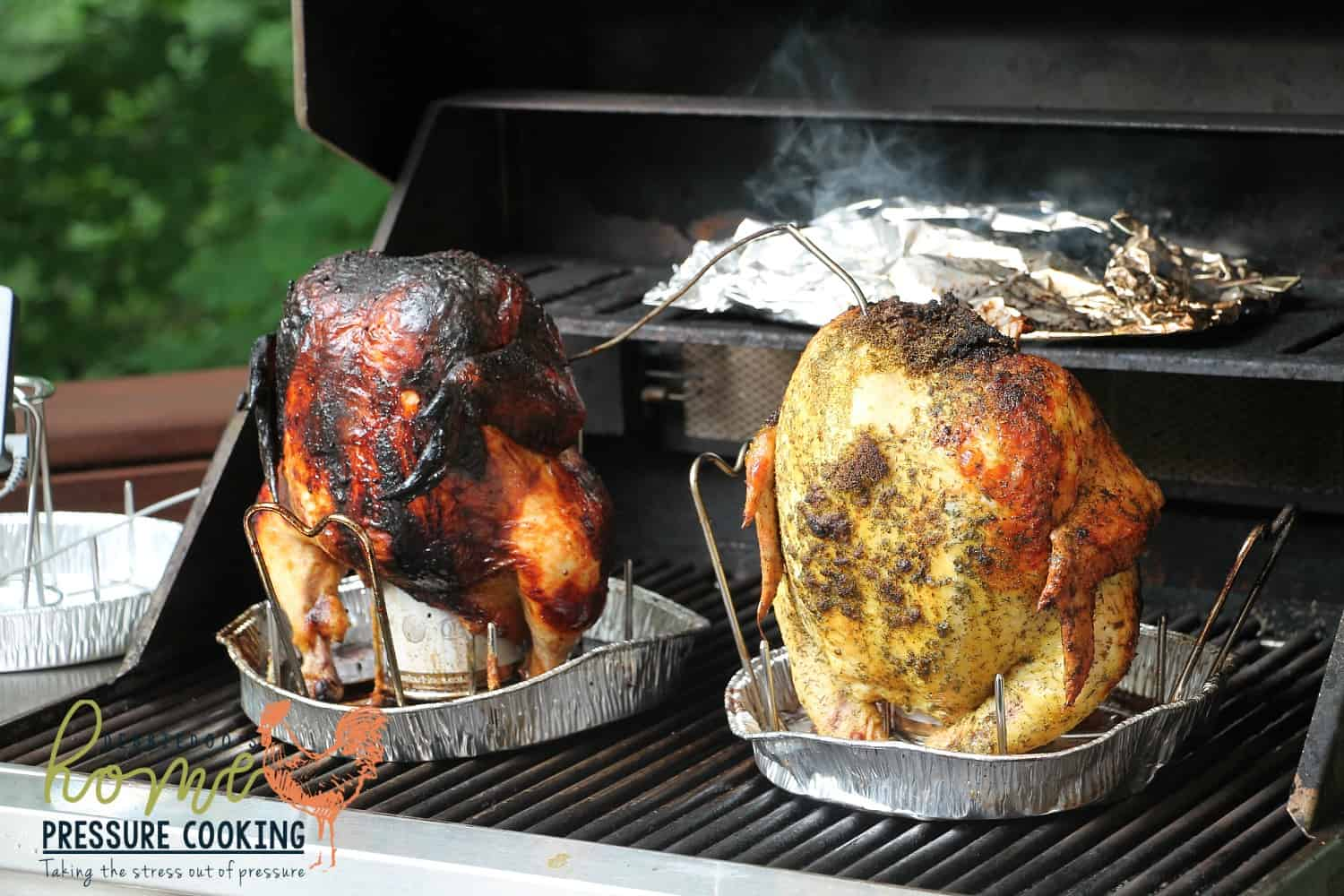 How To Make The Best Beer Can Chicken On The Bbq Home Pressure Cooking