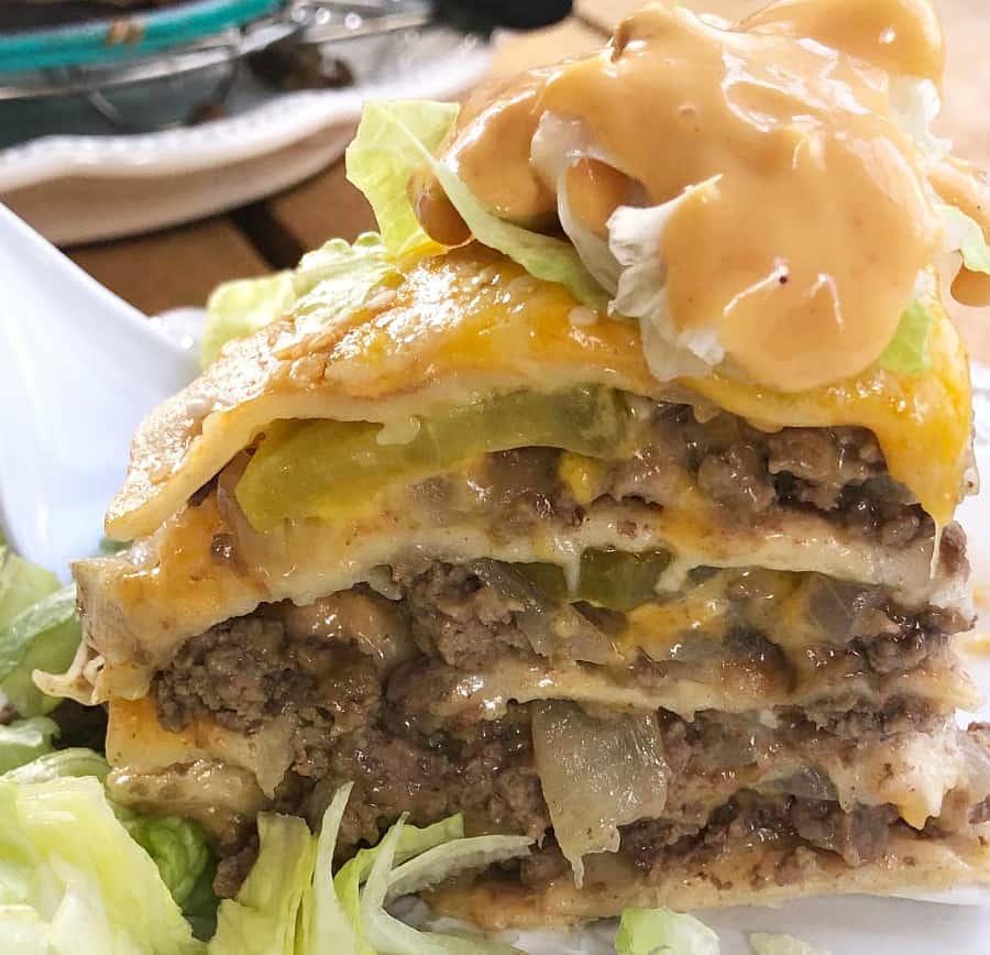 Big Mac in the Ninja Foodi