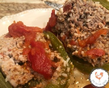 How to make stuffed peppers in the Ninja Foodi