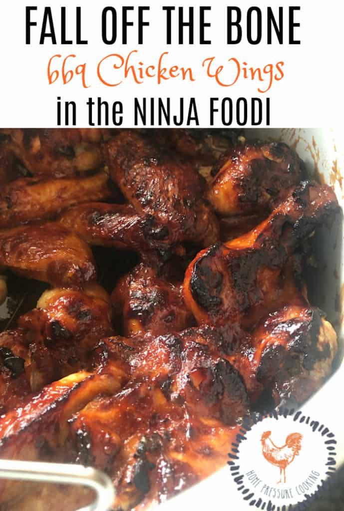 Chicken wings in the Ninja Foodi