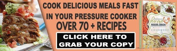 Pressure cooking digital download cookbook