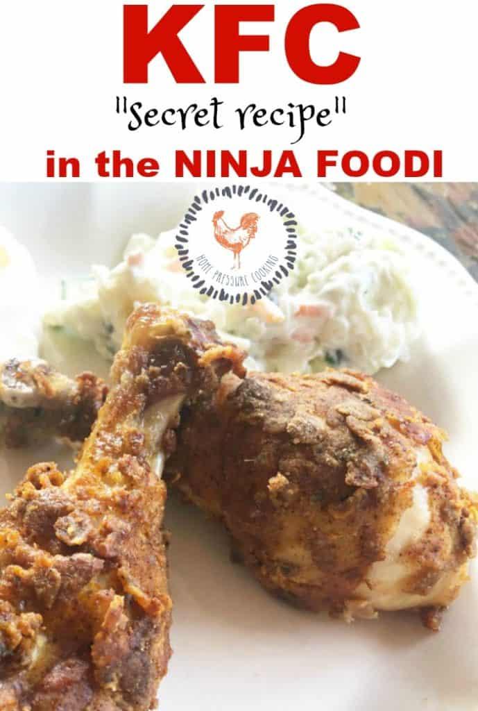 KFC in the Ninja Foodi