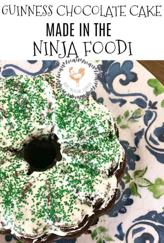 Guinness Cake Made In The Pressure Cooker Versus Ninja