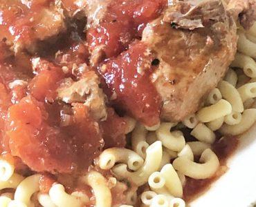 Italian Country style ribs in the Ninja Foodi