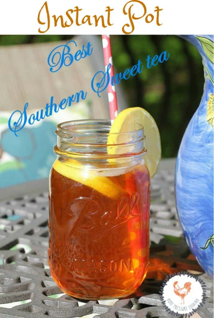 How to make sweet tea in the Instant Pot
