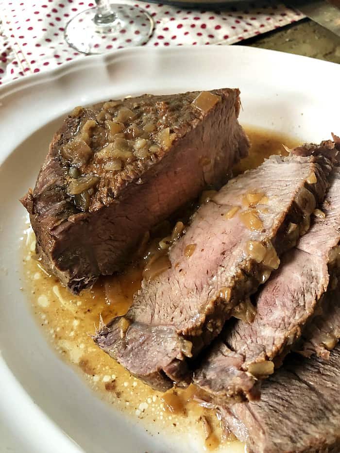 How to make a sirloin tip roast in the Instant Pot