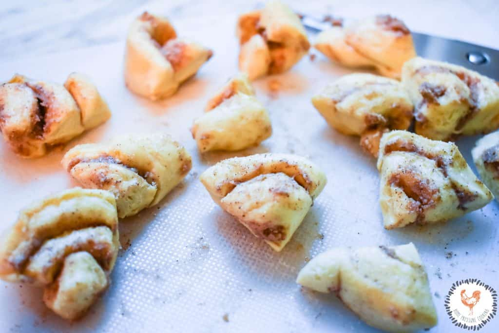 EASY INSTA POT Nutty Cinnabon Monkey Bread JENRON DESIGNS