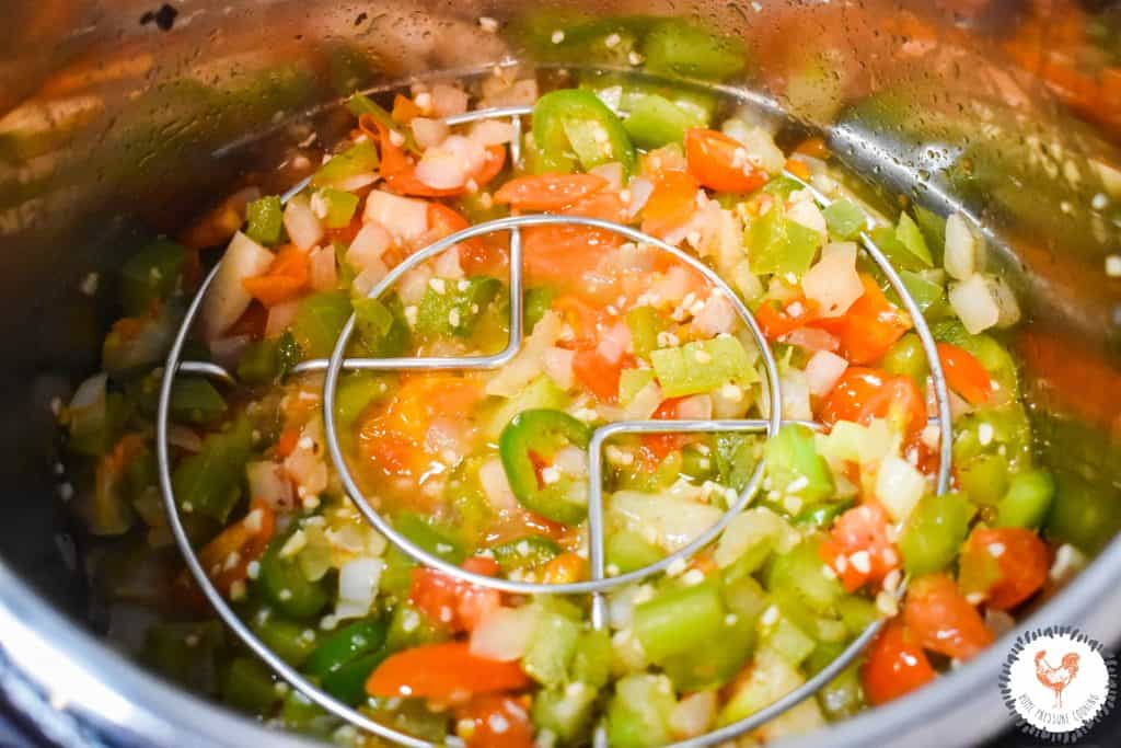 Instant Pot Shrimp & Grits JENRON DESIGNS