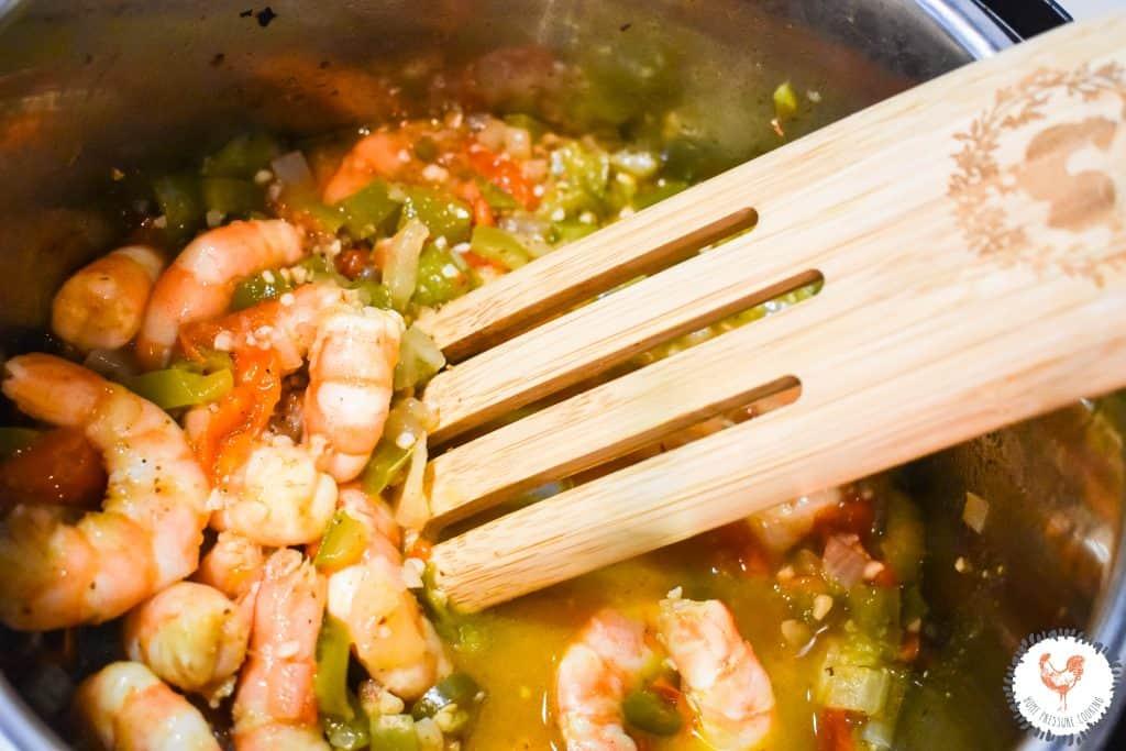 Instant Pot Shrimp & Grits