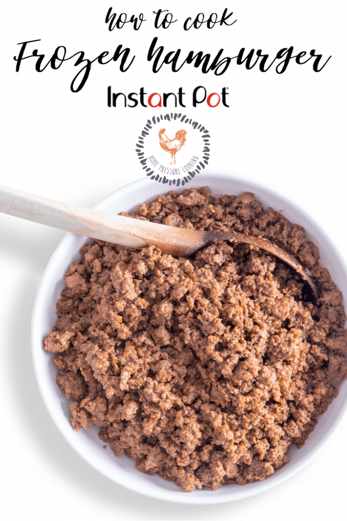 How to cook frozen beef or chicken in the Instant Pot