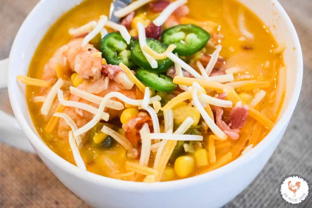 Delicious Instant Pot chowder soup