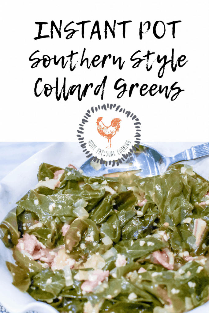 Instant Pot Southern Style Collard greens