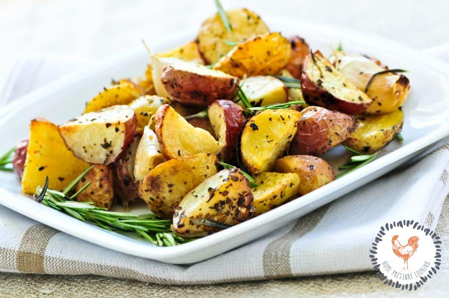 Ninja Foodi Roasted red potatoes