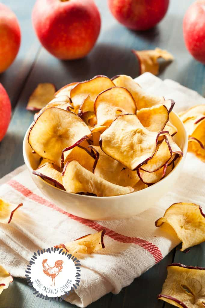 How to dehydrate apples for your dog or yourself in the Ninja Foodi