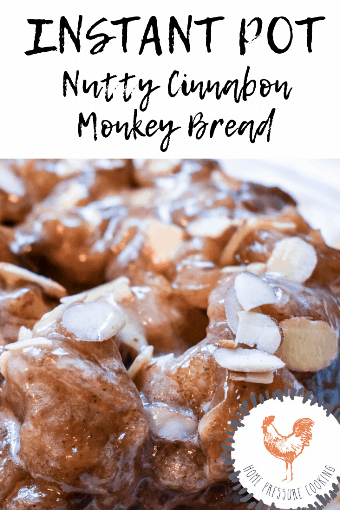 Instant Pot Monkey bread easy recipe