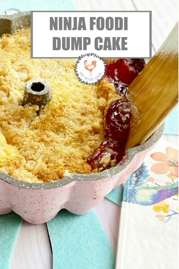 Ninja Foodi cherry dump cake
