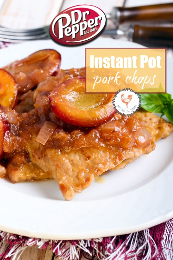 Dr. Pepper Instant Pot Pork Chops