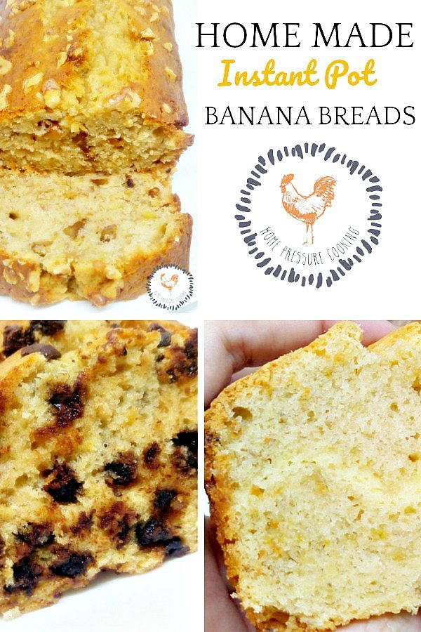 Home Made Instant Pot Banana Bread recipes