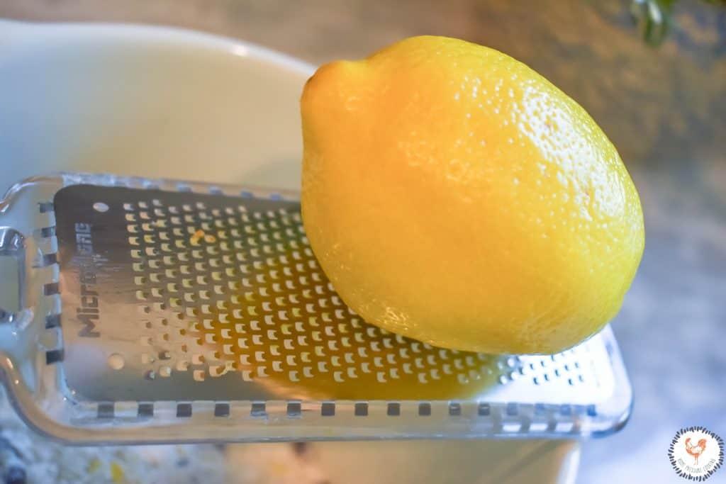 Lemon Zest for the Lemon Blueberry Cheesecake Bundt JENRON DESIGNS