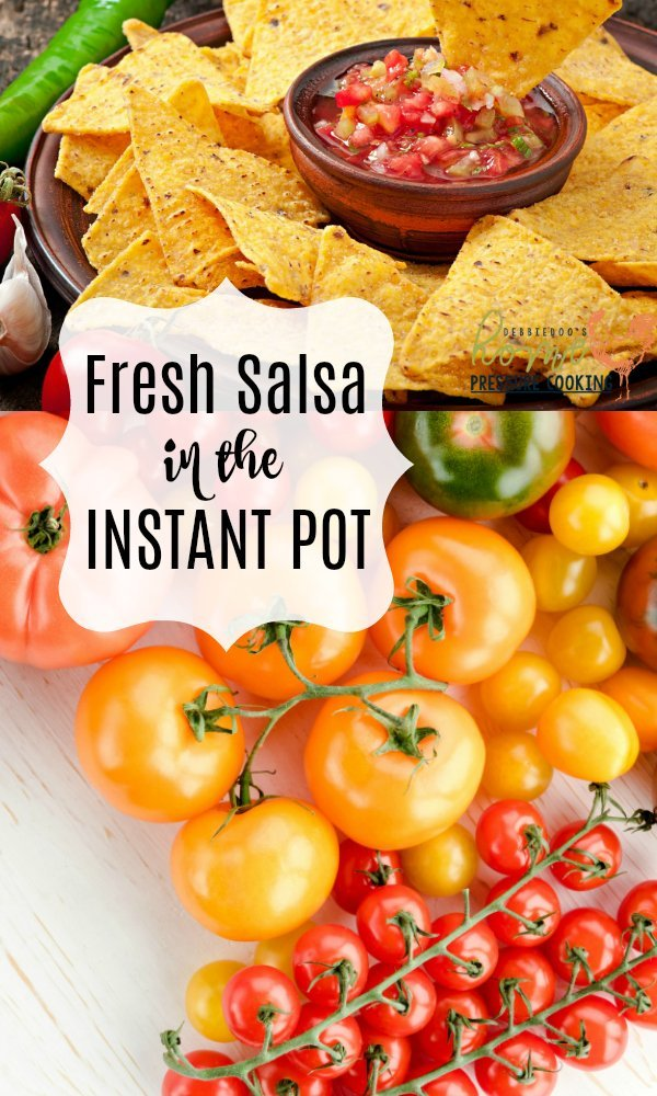 Instant Pot salsa made fresh