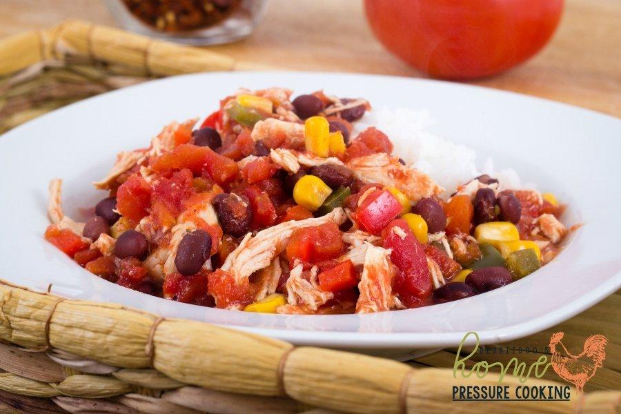 How to make Instant Pot salsa chicken