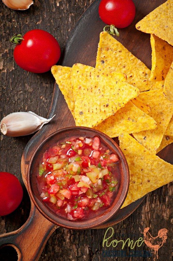 Instant Pot Fresh salsa recipe