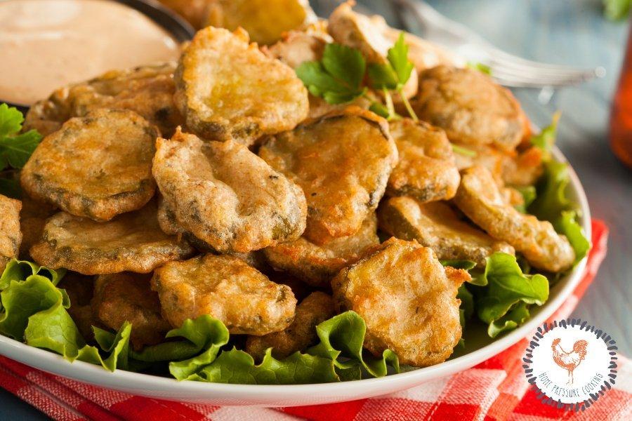 The best Fried Pickles in the Ninja Foodi