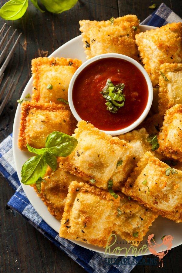 How to make Fried Ravioli in the Ninja Foodi