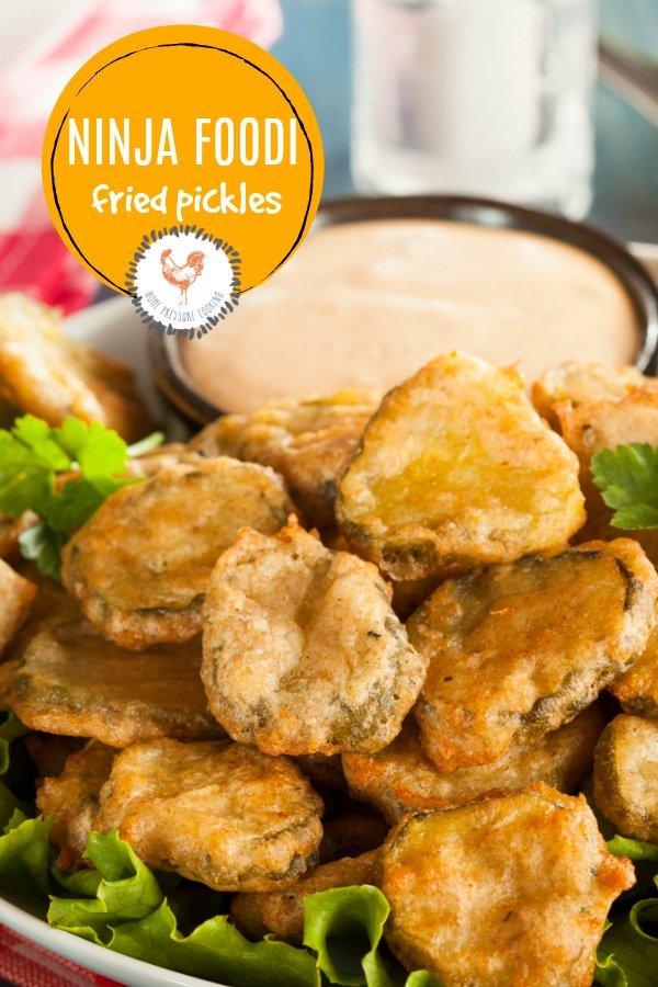 Ninja Foodi fried pickle recipe