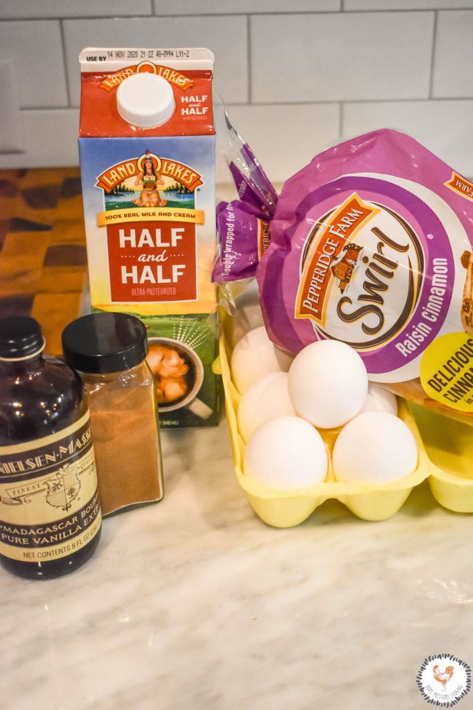 Cinnamon-Raisin-Instant-Pot-French-Toast-Ingrediants-JENRON-DESIGNS