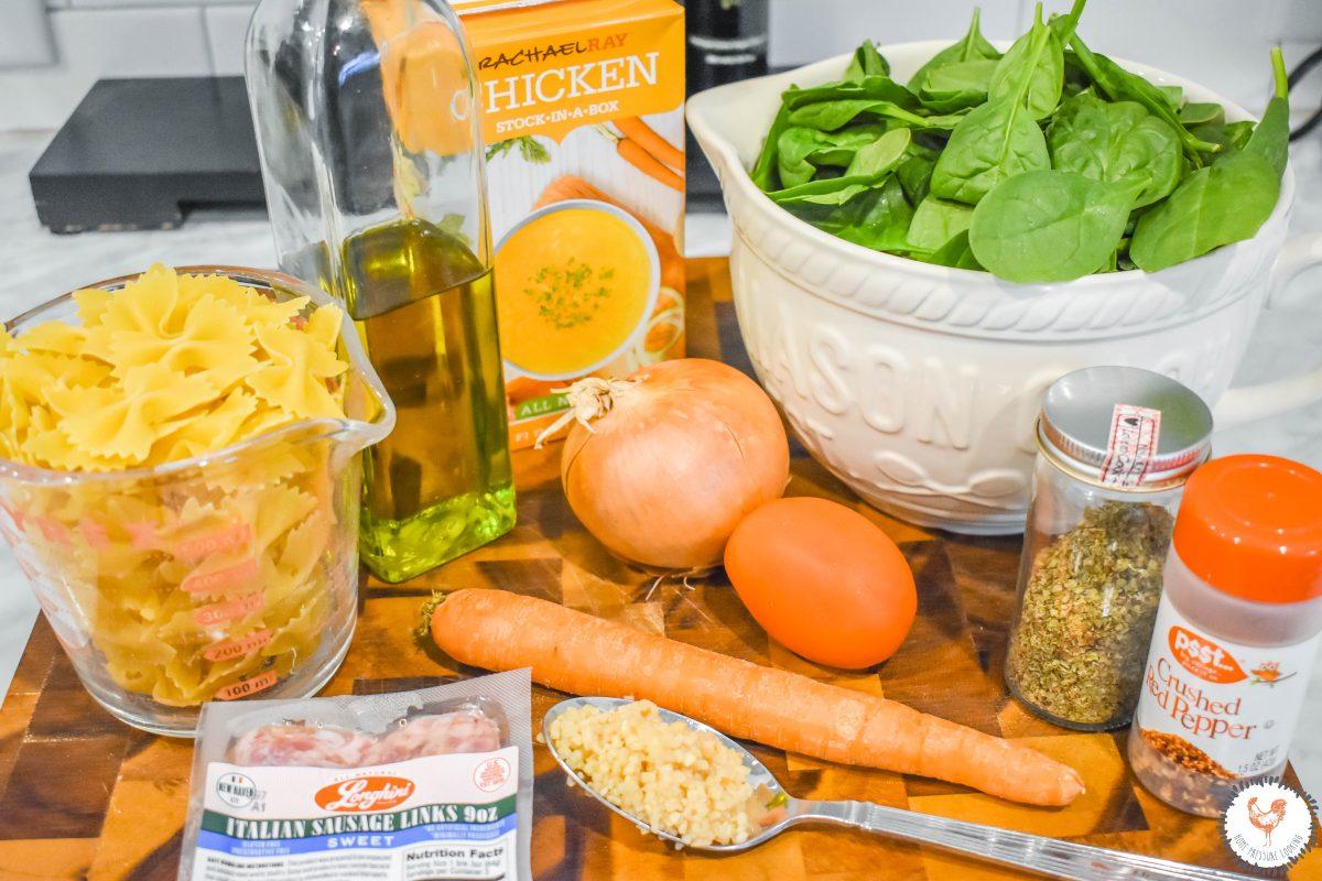 Ingrediants-for-Italian-Farfalle-Soup-JENRON-DESIGNS