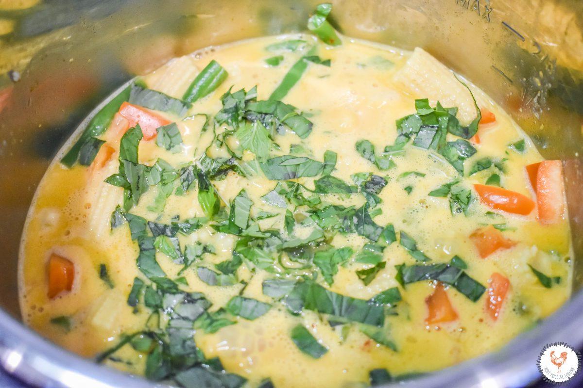 Instant Pot Thai Basil Vegetable Curry Instant Pot JENRON DESIGNS