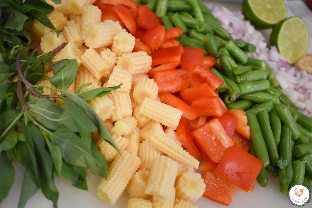 Instant Pot Thai Vegetable Curry Ingredients JENRON DESIGNS