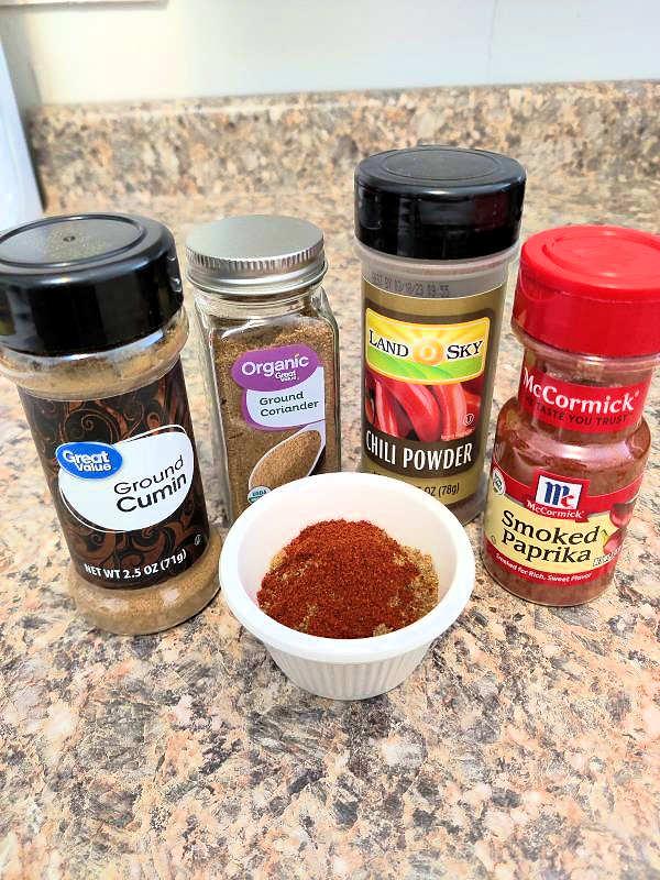 seasonings for Instant Pot Lentil Chili