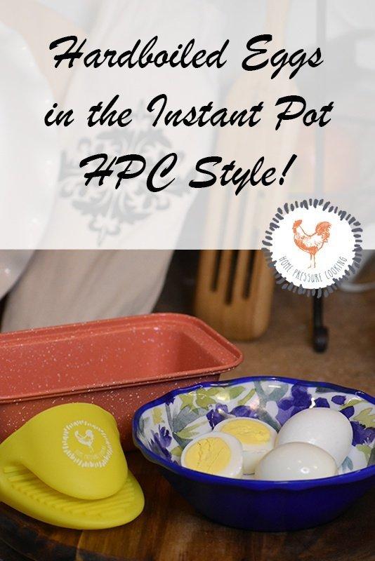 Hardboiled Eggs in the Instant Pot